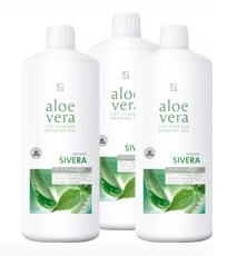 lr aloe vera drinking gel intense sivera 3 er pack der zahnblitz. Black Bedroom Furniture Sets. Home Design Ideas